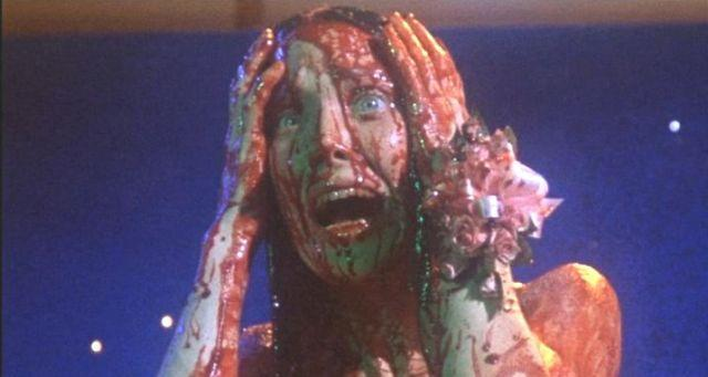 CARRIE Sissy Spacek in 1976's Carrie. Courtesy MGM