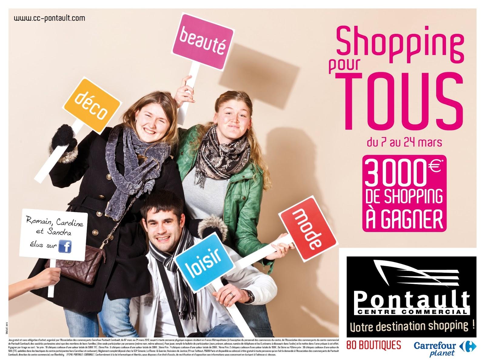 directeur artistique  pontault    centre commercial