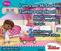 We are #DocMcStuffins Twitter Party Hosts