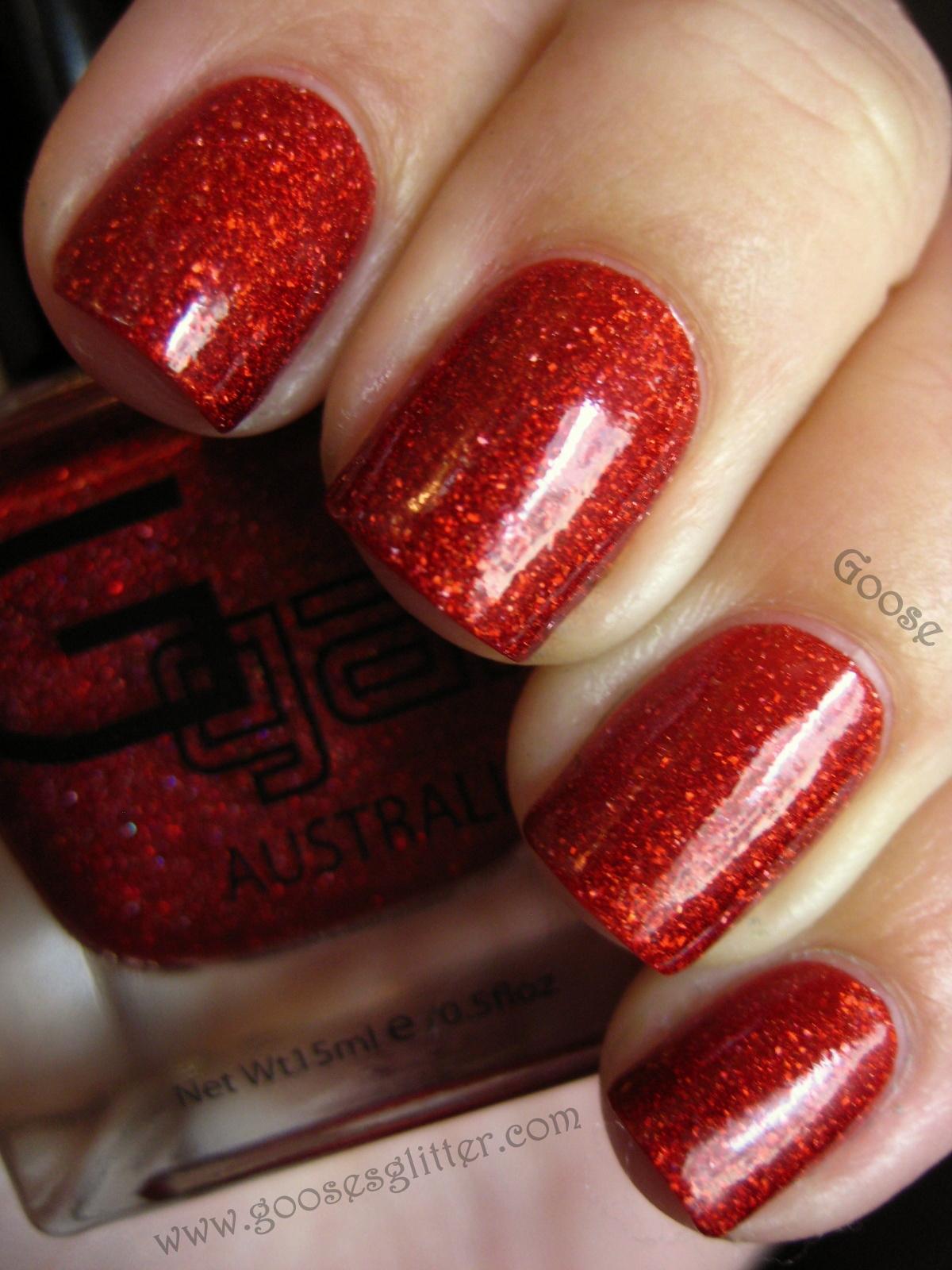 Goose\'s Glitter: Happy Valentine\'s Day & Glitter Gal - Type O