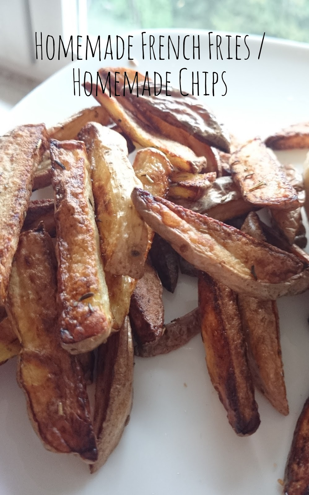 Homemade French Fries / Homemade Chips without fryer