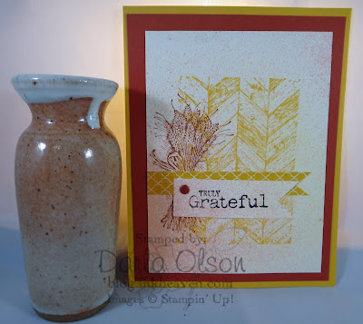 Truly Grateful Stampin' Up!