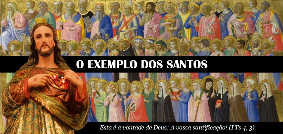 O EXEMPLO DOS SANTOS!