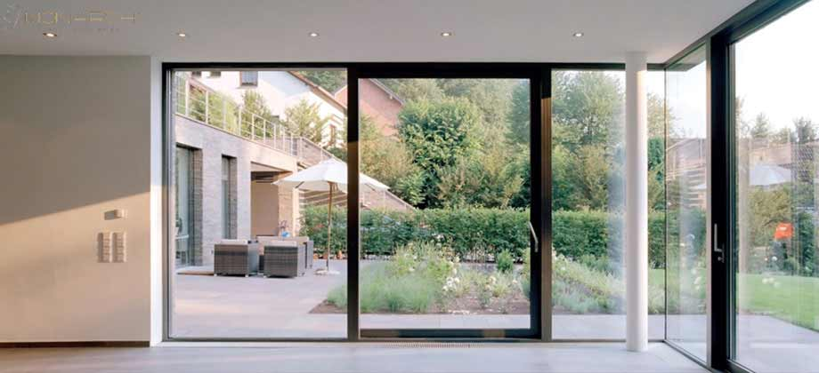 Glass Walls Bringing The Outdoors Within