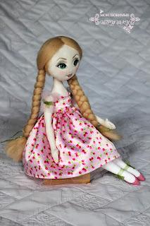 Мои любимые игрушки, авторская текстильная кукла, art cloth doll, my lovely toys