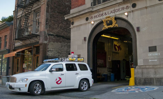 Ghostbusters, Hook & Ladder firehouse, New York City