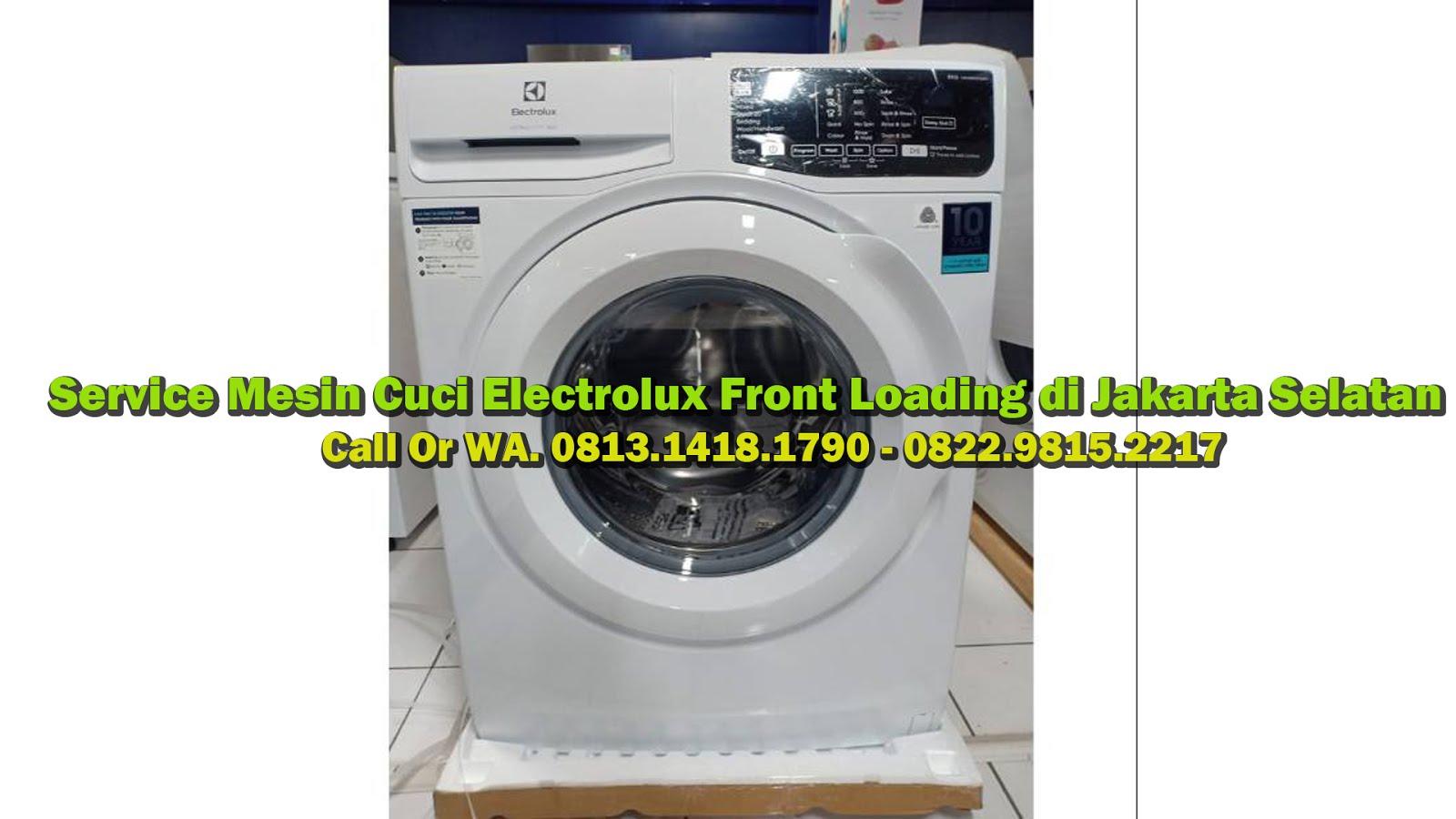 Service Mesin Cuci Electrolux di Jakarta Selatan