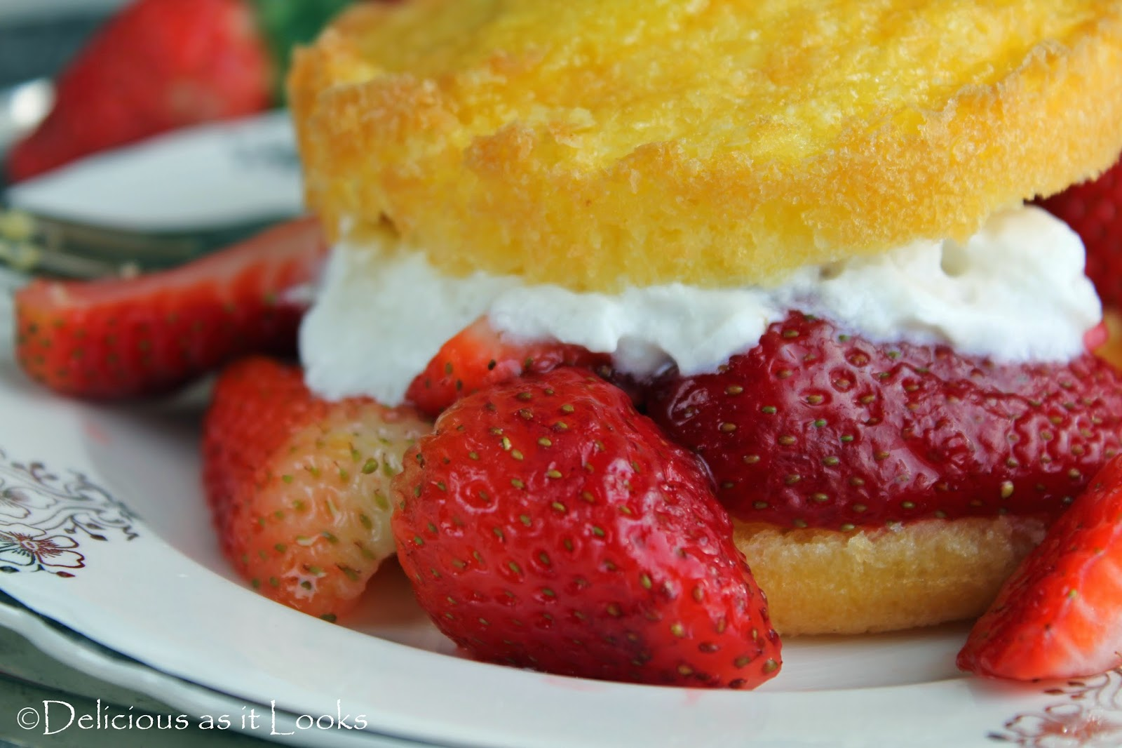 Strawberry Shortcakes {Gluten-Free, Low-FODMAP}  /  Delicious as it Looks