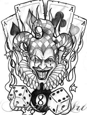 Imagens de Tatuagens de Palhaços