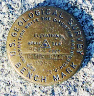 Bench Mark..Top-O-Little Baldy