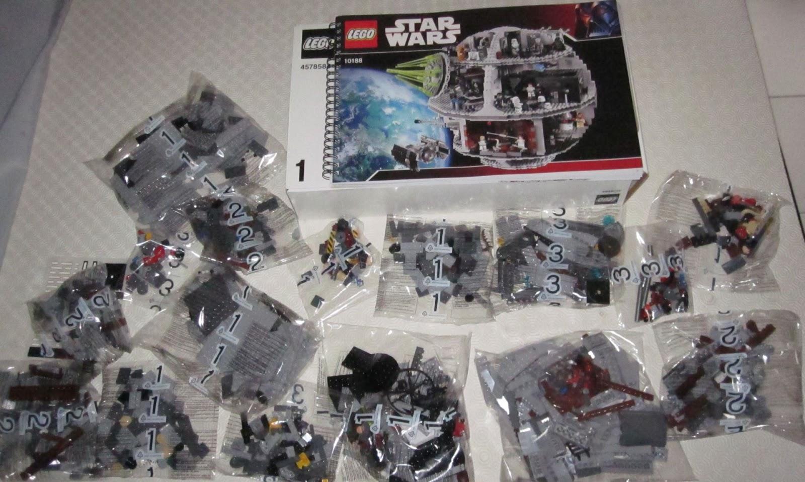 Les briques de toulouse lego star wars set num ro 10188 l 39 etoile noire - L etoile noire star wars ...