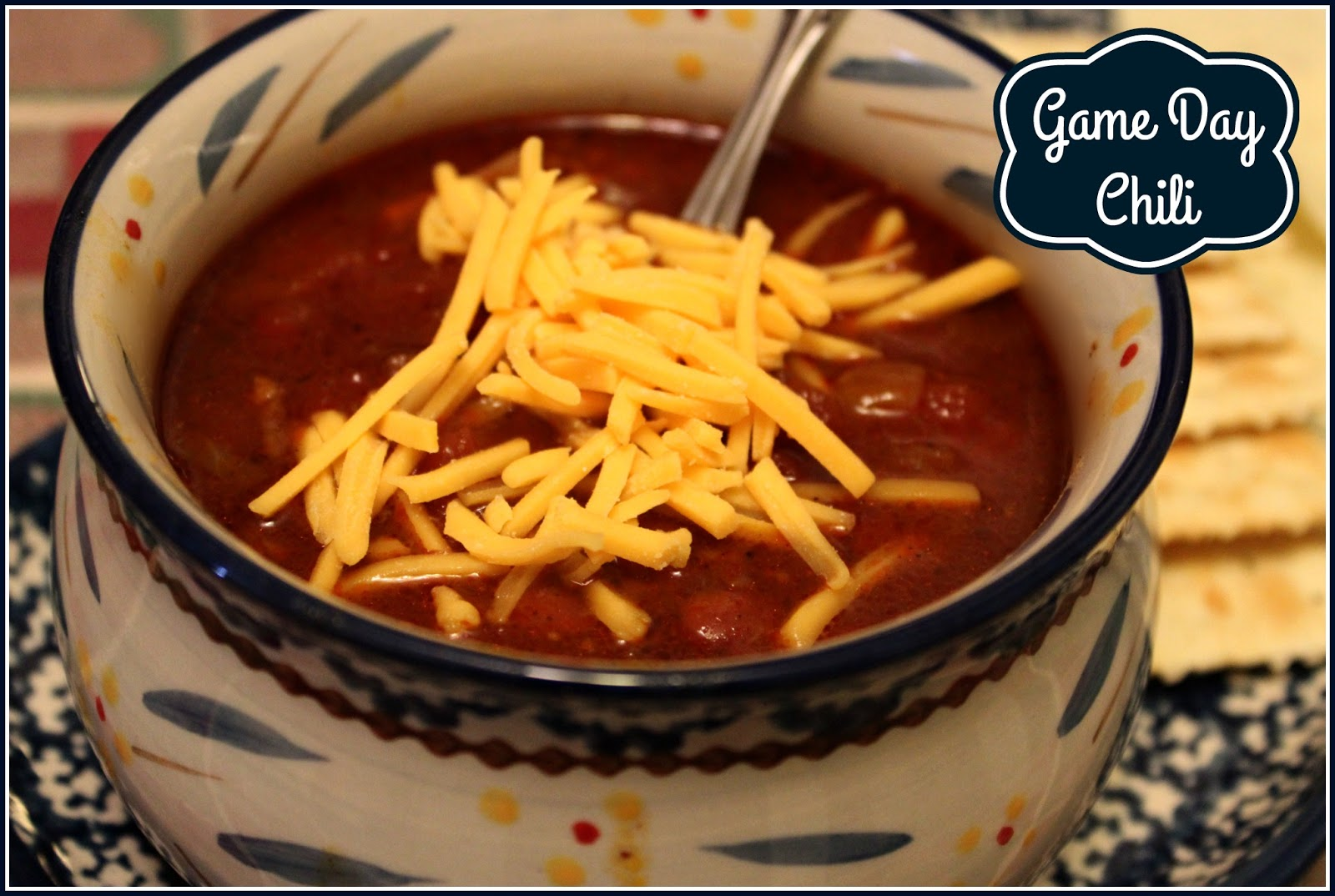 Sweet Tea and Cornbread: Game Day Chili!