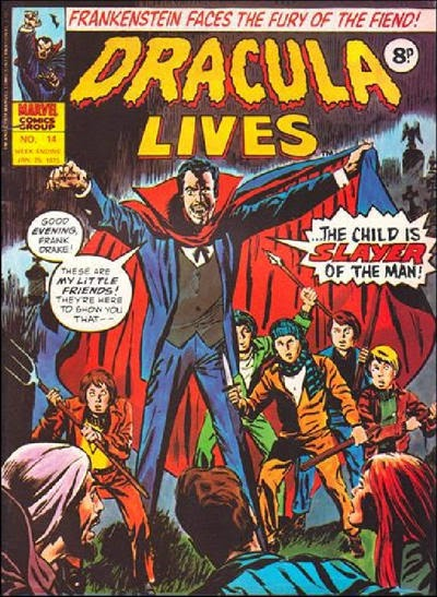 Marvel UK Dracula Lives #14