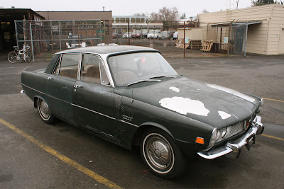 1971 Rover 2000 Automatic.
