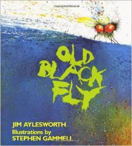 http://www.amazon.com/Old-Black-Fly-Jim-Aylesworth/dp/0805039244/ref=sr_1_3?s=books&ie=UTF8&qid=1425658939&sr=1-3&keywords=shoo+fly