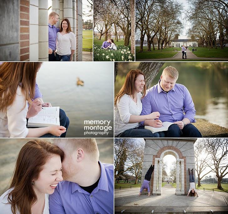 Seattle Engagement Photographe
