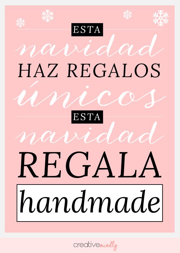 Creative mindly regalos originales bonitos nicos y handmade - Regalos bonitos para navidad ...