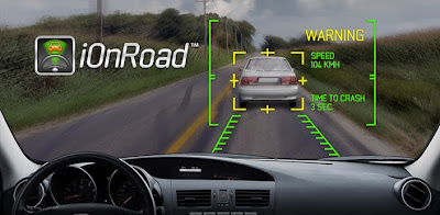 Drive car safely, smart driving app: ionroad