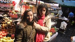 Fotos del día de la mujer en el mercado de San Antón