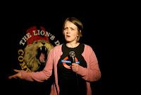Stand-up comedian Gemma Beagley