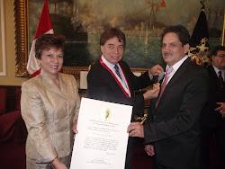 Clamor en el Barrio Peru Medalla de Honor Primer Grado