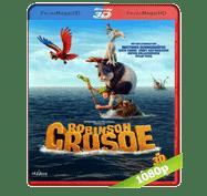 Las Locuras de Robinson Crusoe (2016) 3D SBS BRRip 1080p Audio Dual Latino/Ingles 5.1