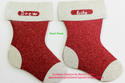 Stampin Up Holiday Stocking