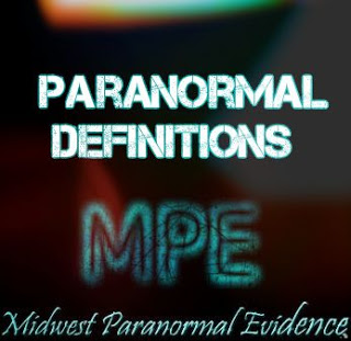 Paranormal Definitions