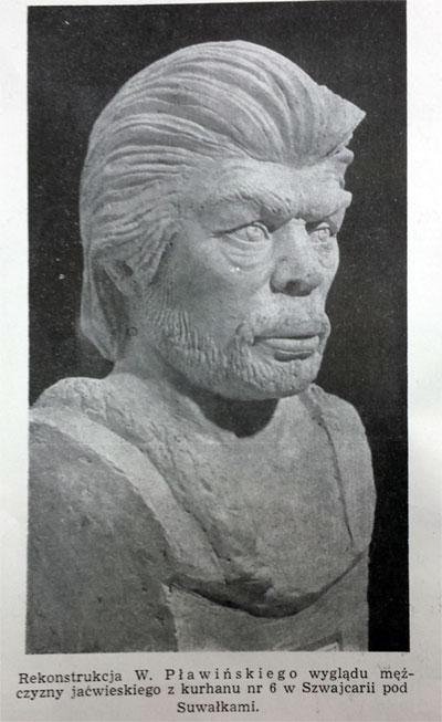 Jaćwing / naukowa rekonstrukcja twarzy