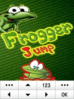 Frogger Jump Samsung Corby Games Free Download - Screenshot 1