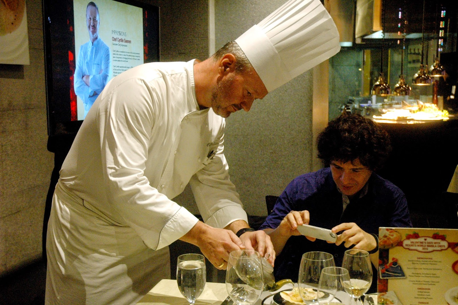 Dude for food food news chef cyrille soenen honored as master chef for the month of april chef cyrille soenen showcases his culinary mastery with a lavish four course seafood degustacion set menu for the season of lent fandeluxe Image collections