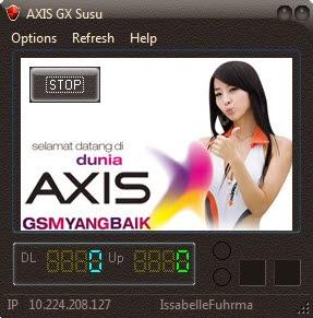 Injek Axis Update Azis GX Susu