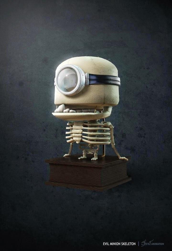 minion esqueleto