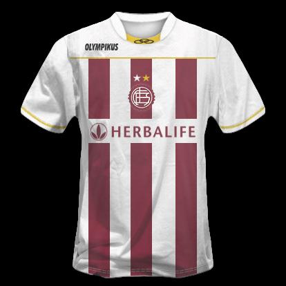 Camisetas Torneo Clausura 2012 1ra división + Yapa