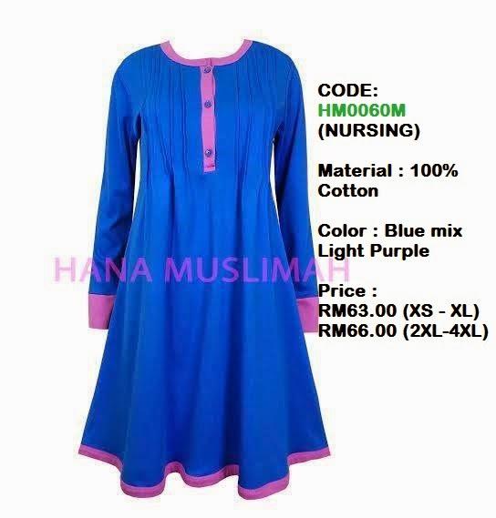 T-shirt-Hana-Muslimah-HM0060M