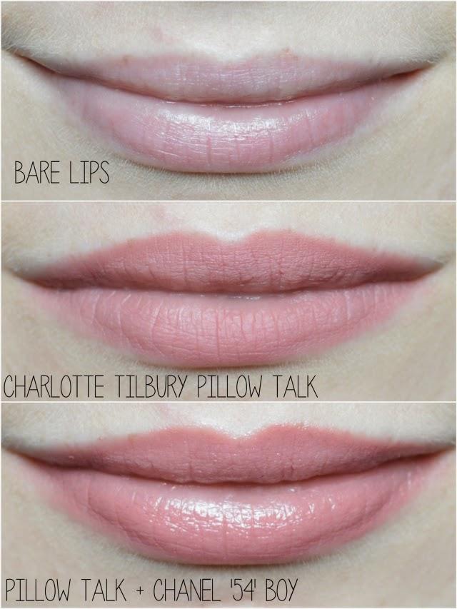 Tilbury Pillow Talk Lipstick Dupe
