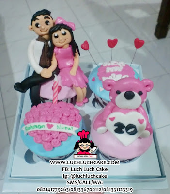 Cupcake Beruang Daerah Surabaya - Sidoarjo