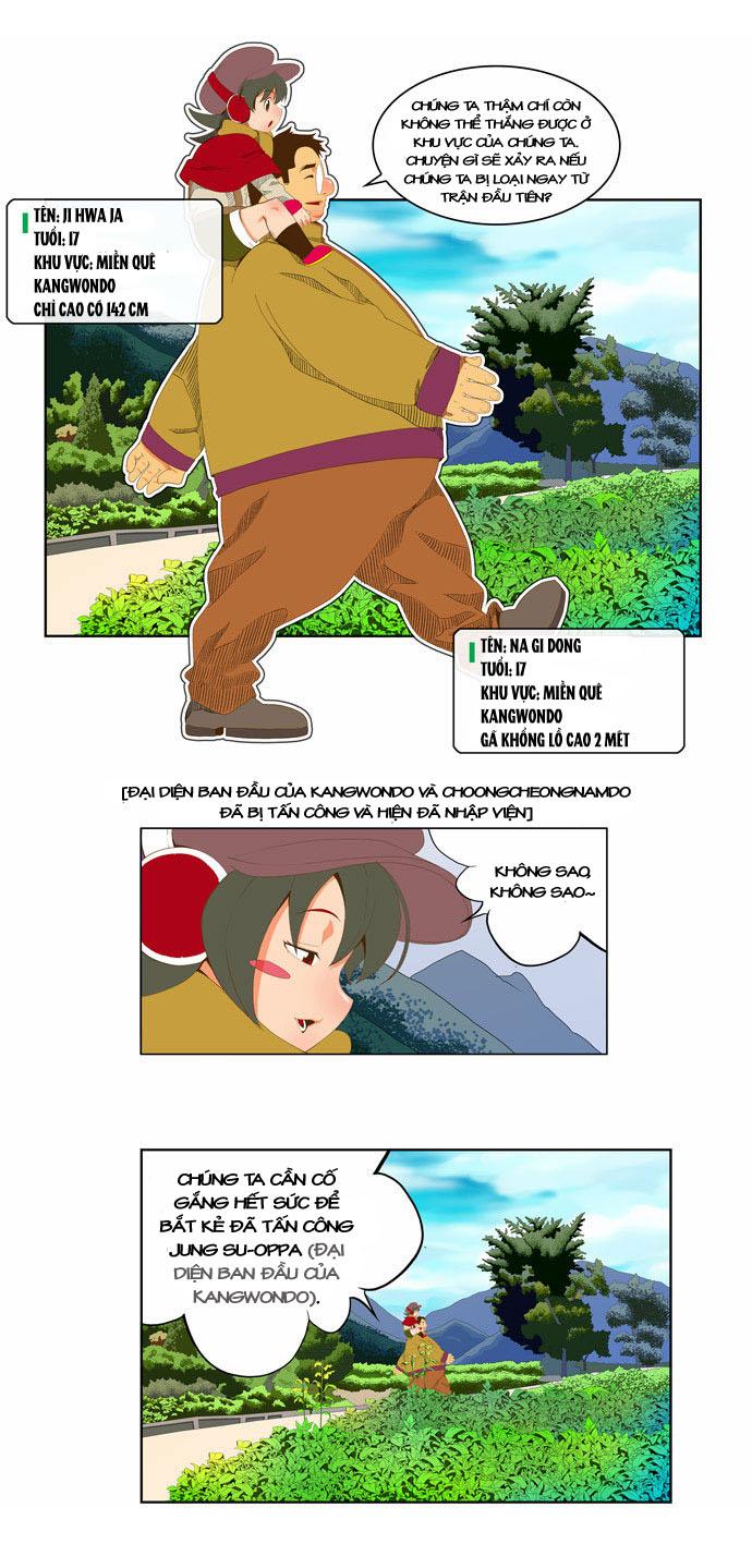 Chúa tể học đường chap 44 - Trang 8