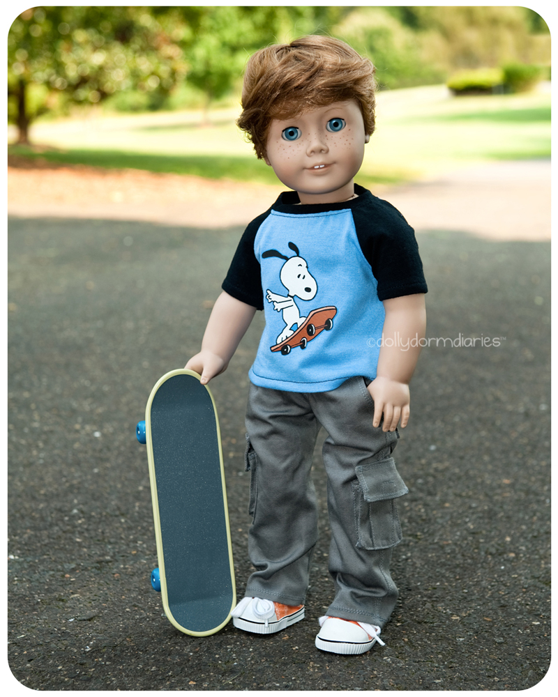 Meet our American Girl boy doll, Alden. Read 18 inch doll diaries at our American Girl Doll House. Visit our 18 inch dolls dollhouse!