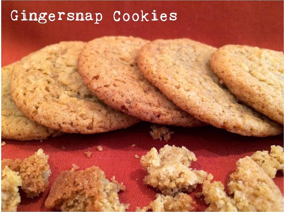 Gingersnap Cookies Recipe — Dishmaps