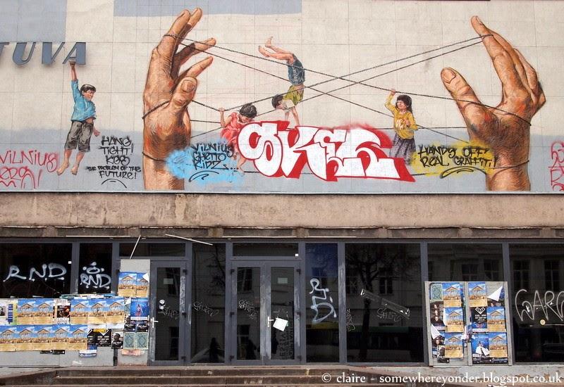 Street art - Vilnius, Lithuania
