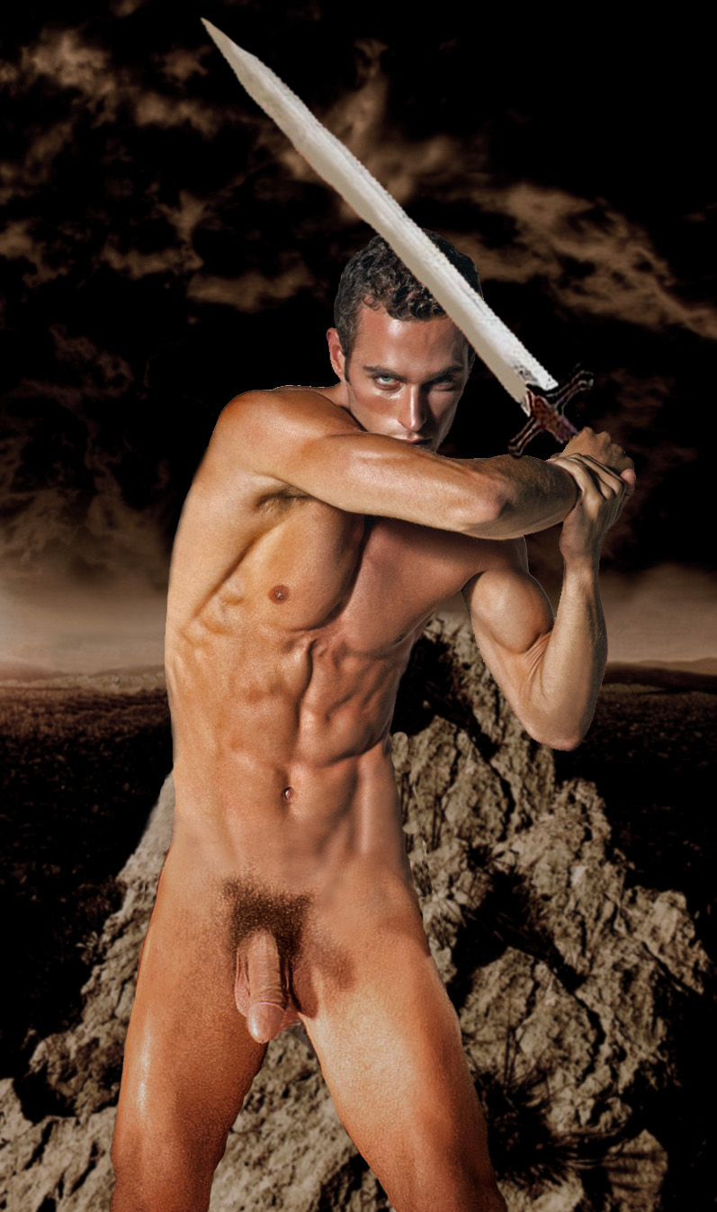 Fucking nude male warrior smut photo