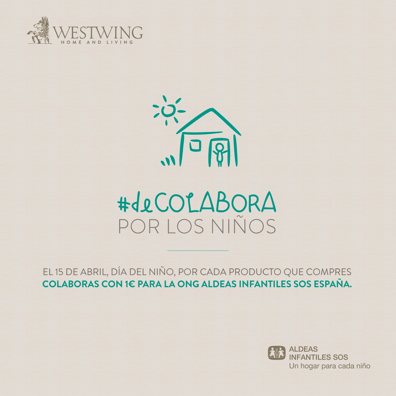 #deCOLABORA: Unimos esfuerzos con Aldeas Infantiles SOS España y Westwing en el Día del Niño
