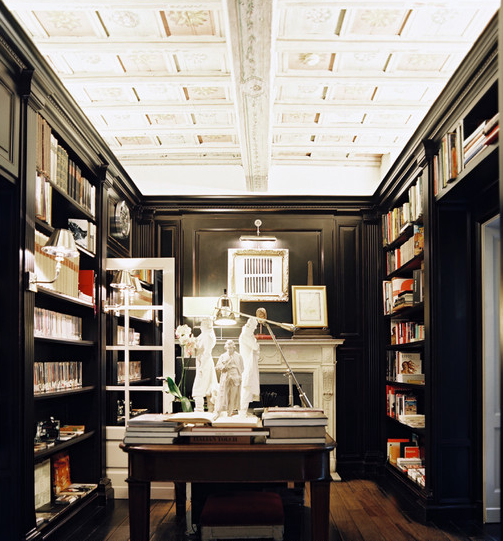 Library Den Atlanta Home Of Interior Designer Peggy: Heather Fulkerson Interiors: ATLANTA INTERIOR DESIGNER: Up