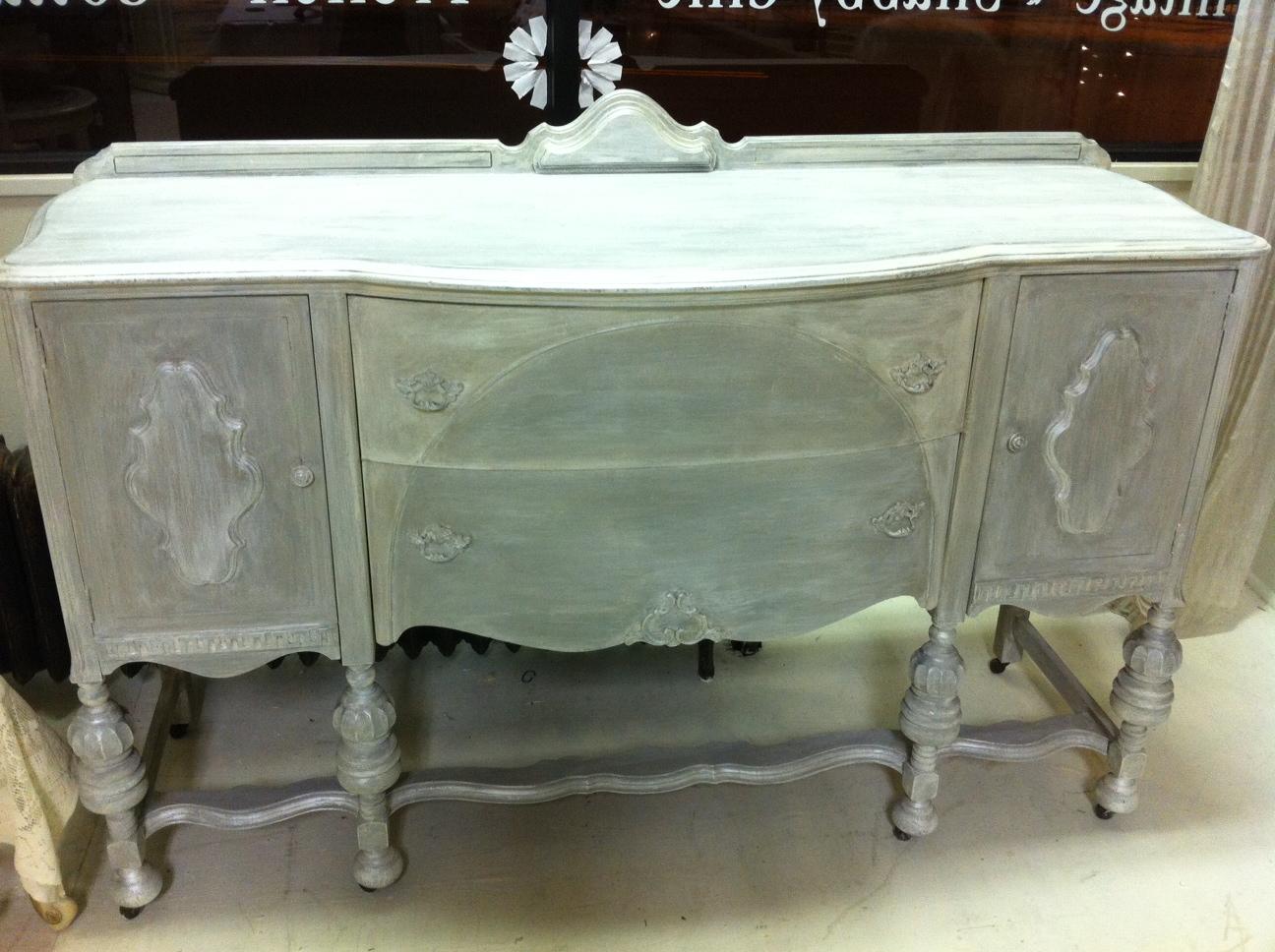 Buffet Silver Grey Jpg 1296 968 Painted Furniture Pinterest Buffet And Grey