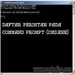 Perintah-perintah pada CMD