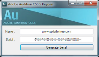 How to Download Adobe Audition CS5.5 Keygen Free!! ~ Serial For Free