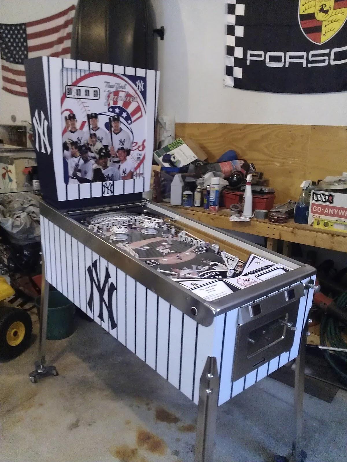 yankees pinball machine