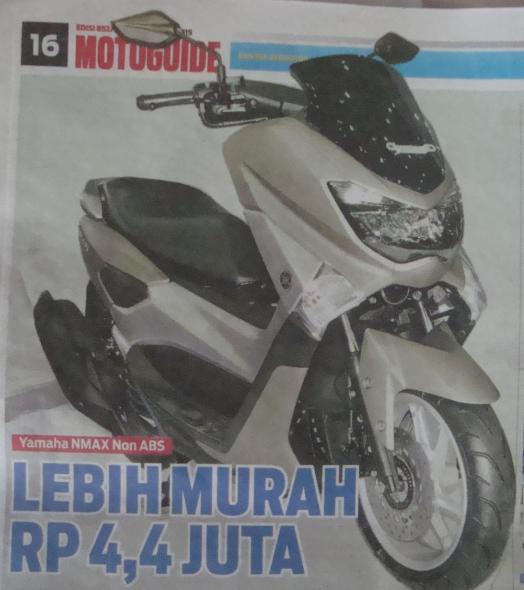 Yamaha NMAX Non ABS - Solusi Tak Mau Inden