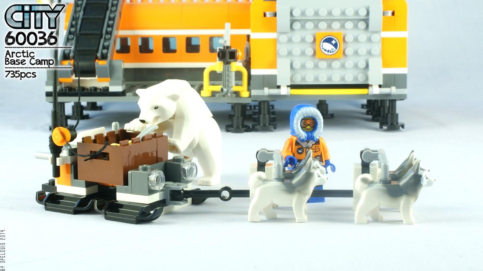 Lego city 60036 arctic base camp part 1